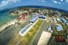 This is where all the action will take place for the upcoming Buccoo Goat and Crab Races! In the meantime enjoy an arial view of the event venue: the Buccoo Integrated Facility.   Prepare yourself for the long awaited event next Tuesday, April 22nd!   Source: https://www.facebook.com/Freshflashbooth  #Tobago #Trinidad #TrinidadAndTobago #CrabAndGoatRaces #GoatRaces #CrabRaces #Caribbean #Easter #TobagoBookings #BuccooTobago