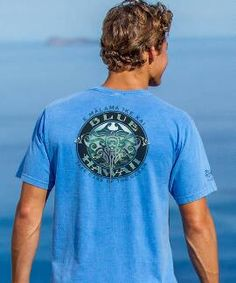 Short-Sleeve Blue Hawaii Dive Blue Hawaii Crew T-shirt