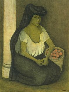 Rufino Tamayo, Woman With a Black Coif