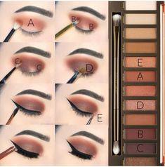 Gorgeous Makeup: Tips and Tricks With Eye Makeup and Eyeshadow – Makeup Design Ideas Eye Makeup Steps, Smokey Eye Makeup, Makeup Tips, Makeup Ideas, Makeup Goals, Contour Makeup, Eyeshadow Makeup, Makeup Brushes, Eyeliner