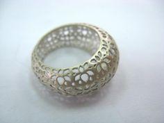 lotus ring by SHIMRIT ZAGORSKY-ISRAEL