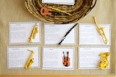 Musical Instruments FREE Printable