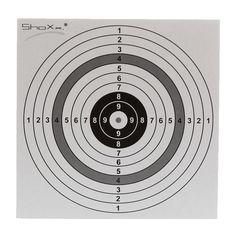 Original shoot-club Luftgewehr Zielscheiben mit einem Spiegel