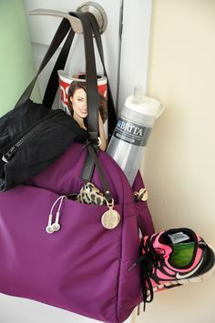 Earphones? Check! Trainers? Check! Water bottle? Check! Is your gym bag packed? Don't forget the essentials