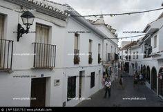 Mijas, lugar, pueblo, calles, Málaga