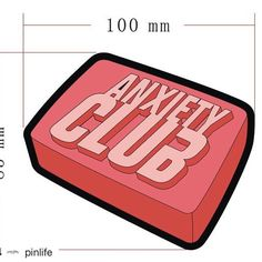#Repost @pinlife  'Anxiety Club' patches now available for pre-order! Due in around the 9th of January and will ship shortly after that! Rep the club on your favourite bag/jean jacket or even hat! This also includes an iron on backing www.pinlife.co.uk (link in bio) 50p from each patch donated to Mind mental health charity! thanks     #pins #pinstagram #enamelpins #enamelpin #lapelpins #lapelpin #pingame #patchgame #patch #pin #koolfade #hypebeast #supremenyc #pinlife #skateboard #staywheezy…