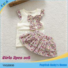 2015 niños del verano nuevos falda del traje ropa del bebé fija puntos puntos falda falda de la flor de las niñas ropa princesa SkirtRetail