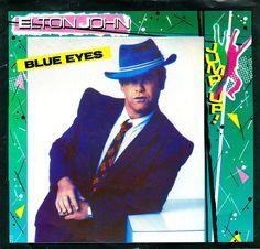 Elton John Blue Eyes, Elton John Live, Ryan White, Vinyl Record Collection, Park Photos, Tiny Dancer, Vintage Vinyl Records, Rare Pictures, Pop Singers