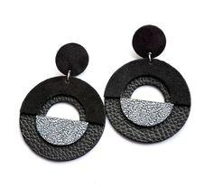 leather earring di quwy su Etsy