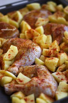Hawaiian Pizza, Clean Eating, Potatoes, Yummy Food, Chicken, Dinner, Vegetables, Blog, Recipes