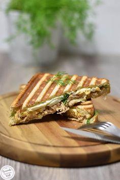 Rezept für gegrilltes Thunfischsandwich mit Feta