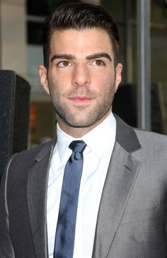 Zachary Quinto being, ya know, GORGEOUS