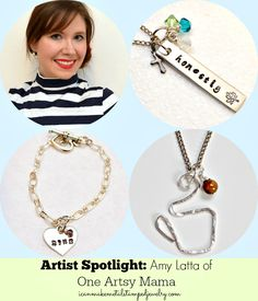 Artist Spotlight: Amy Latta #DIYJewelry