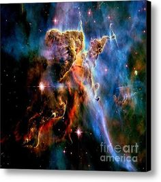 Mystic Mountain Canvas Print / Canvas Art By Johari Smith #messier42 #orionnebula #space #nebula #theuniverse #outerspace #galaxy #galaxies #constellation #stars #clouds #cosmic #cosmos #astronomy #astrology #mystical #spiritual #galaxyprint #nebula #orionnebul #canvasprint ##nature, #nasa image #hubbletelescope #space #outerspace #stars #star #galaxy #galaxies #celestial #spiritual #cosmic #cosmos #theuniverse #constellation #constellations #nebula #nebulae #galactic