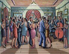 Club des Arts by P. J. Crooks