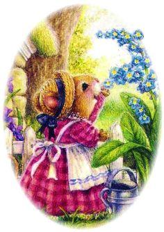 Susan Wheeler ★ Susan Wheeler, Bunny Painting, Decoupage, Animal Cards, Vintage Children's Books, Woodland Creatures, Botanical Prints, Painting Inspiration, Graphic Illustration