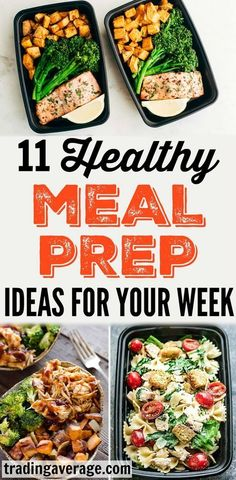 Healthy Meals For Kids Meal prep for the week may seem difficult, but it can actually be very easy! Here are 11 healthy meal prep ideas that will help you prepare nutritional meals ahead of your busy work week! Easy Healthy Recipes, Healthy Drinks, Lunch Recipes, Healthy Snacks, Healthy Eating, Week Of Healthy Meals, Easy Healthy Meal Prep, Healthy Meal Planning, Easy Meal Prep Lunches