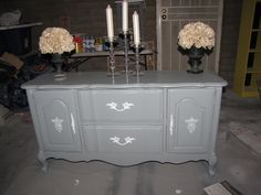 After - French Provincial Buffet (SOLD)