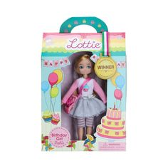 Lottie Doll by Birthday Girl 7 Inch Doll With Blond Hair And Blue Eyes Style: no fringe Happy Birthday Doll, Girl Birthday, Boy Doll, Girl Dolls, Silver Trainers, Doll Eyes, Doll Hair, Imaginative Play, Cute Dolls