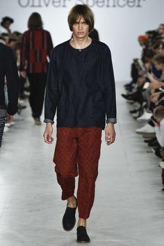 Oliver Spencer - Spring 2017 Menswear