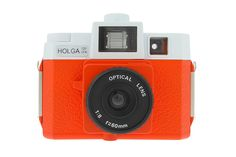This limited edition Holga color flash camera has been renamed 'JACK' and features customized White Stripes packaging and printed camera logos.