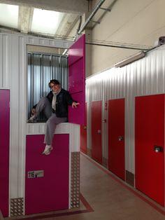 Storage Units, Locker Storage, Stock Box, Self Storage, Storage Design, Business Ideas, Life Hacks, Container, The Unit