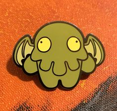 Hey, I found this really awesome Etsy listing at https://www.etsy.com/listing/481951028/cthulhu-zombie-enamel-pin
