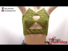 Cropped Top Anne Brilho - YouTube