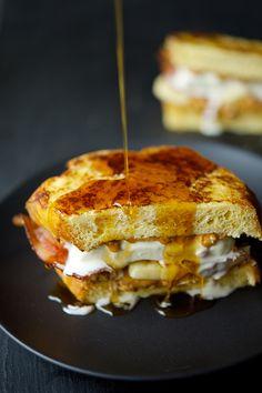 The Ben & Jerry's Bacon Breakfast Sandwich