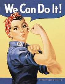 TIN SIGN ROSIE THE RIVETOR - tons of vintage signs on this site!! for the Lady cave