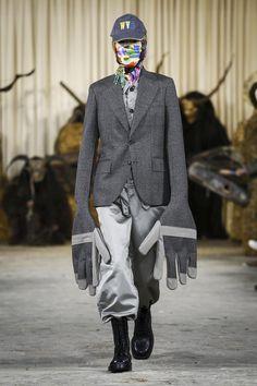 Walter Van Beirendonck Fall Winter 2017 Menswear Collection in Paris