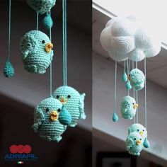 Thinking about newborn gift <3 Let's prepare the crochet hook and a quality cotton yarn :)  www.adriafil.com  #adriafil #newborn #gift #cloud #birds #crochet #amigurumi #crochethook #cotton #cottonyarn #yarn #handmade #diy #doityourself #madeinitaly #cotone #cotoneegiziano #egyptiancotton
