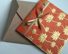 Wedding Invitation Mix and Match DIY Pocket Fold by SamvadiyaCards