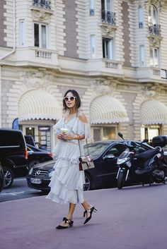 flowy dresses in the city