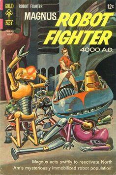 Magnus, Robot Fighter #23