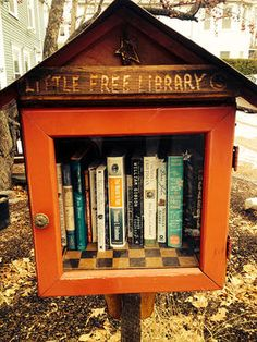 Take A Book, Leave A Book In Vermont's Tiniest Libraries | Vermont Public Radio