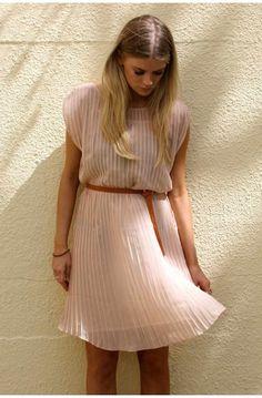pleated dress inspiration