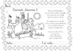 Mi grimorio escolar: CANCIÓN JAUME I Jaime I, Bullet Journal, Memes, Patio, Valencia, School Ideas, Medieval, Google, King