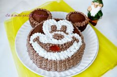 Ce a mai gatit Timea...: Tort de ciocolata Mickey Mouse