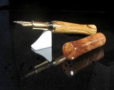 Sale Jerusalem Special Olive Wood fountain pen by ZmanCustomPens