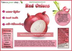 ☛ Onions are a staple in so many cuisines and dishes. Take a look at how good they are for our health. ✒ Share | Like | Re-pin | Comment #stpeintomygreenworld #onions #redonions #food #health #wellness #healthyliving