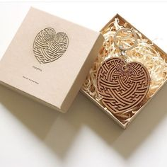 Geometric pattern master @myoshka108 designed bamboo keychains we made and packaged now available from @thecirclelondon   #sayagata #bamboo #heart #geometry #geometric #sacredgeometry #woodcut #woodetch #clearcutcreation - www.itsclearcut.com
