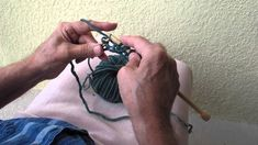 How To Knit A Fisherman's Rib