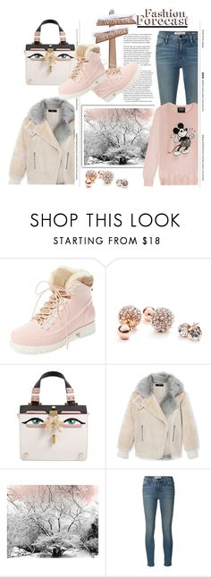 """""""Fashion Forecast: Winter Style"""" by emcf3548 ❤ liked on Polyvore featuring Australia Luxe Collective, GUESS, Giancarlo Petriglia, TIBI, Frame Denim and Markus Lupfer"""