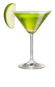 The classic martini with an apple twist
