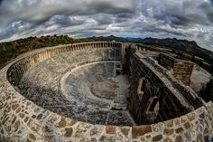Aspendos Amphitheatre; around 1800 years old and still gigs and shows are held in it. Located in Antalya/Turkey