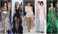 Beautifully Fierce!: Spring 2017 Haute Couture Trends Asymmetric arms #couture #fashion #trend
