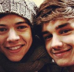 harry and liam. That's the sound of my heart breaking