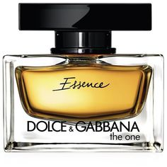 Dolce & Gabbana The One Essence (40ml - 65ml) ($100) ❤ liked on Polyvore featuring beauty products, fragrance, dolce gabbana perfume, lily perfume, eau de perfume, floral perfumes e heart perfume