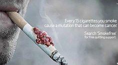 Une campagne trash qui vous donnera envie d'arrêter de fumer